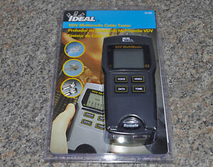 Ideal 33 856 Vdv Multimedia Cable Tester Brand New Sealed Fast Free Shipping
