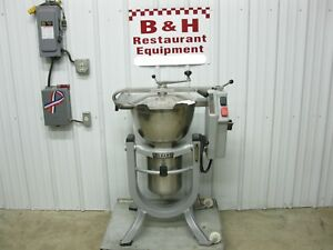 Hobart Hcm 300 Vertical Cutter Mixer 30 Qt Vcm Bakery Pizza Cheese Chopper