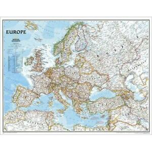 National Geographic Re00620070 Map Of Europe Classic