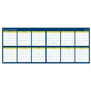 House Of Doolittle Hod3974 Yearly Laminated Planner
