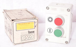 Auxibox Baco Bxn201 20 Start Stop Push Button Switch Control Station