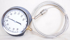 Probe Thermometer 4 Panel Guage 40 To 160 Degrees F