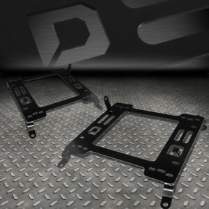 For 2008 2017 Mitsubishi Lancer Evo Racing Seat Base Mount Bracket Rail Track