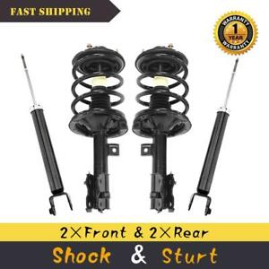 For 2002 2003 2004 2005 2006 Nissan Altima 3 5l Front Quick Struts Rear Shocks