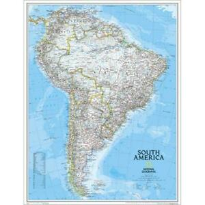 National Geographic Re00620069 Map Of South America