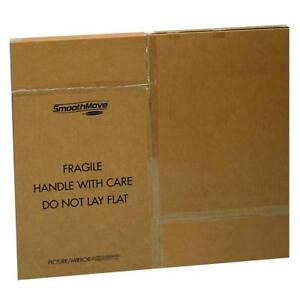 Bankers Box Smoothmove Tv picture mirror Moving Box Adjustable 40 X 60 X 4