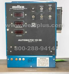 Miller Automatic 1d s Weld Control
