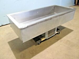 delfield Hd Commercial Refrigerated drop in 56 l Cold Well salad Bar Insert