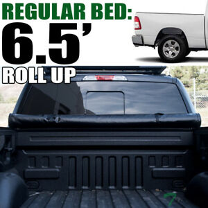 Topline For 2019 Dodge Ram 1500 6 4 Bed Lock Roll Up Soft Vinyl Tonneau Cover