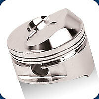 258266 Je Bb Open Chamber Dome Pistons 496 Bb Chevy 4 310 Bore 13 0 1 Comp