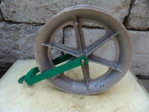 Greenlee 24 Inch Sheave For Greenlee Tugger Puller Nice Shape 3 12 10