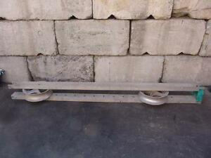 Greenlee 671 10 Foot Man Hole Sheave 4000 Lbs For Tugger Puller 3
