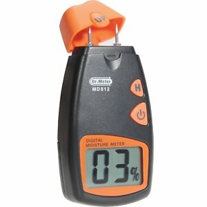 Dr meter Digital Wood Moisture Meter 2 Pins Portable Water Tester Hd Lcd Display