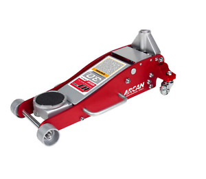 Floor Jack Service Aluminum 3 Ton Heavy Duty Steel Low Profile Rapid Pu