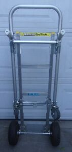 Milwaukee Aluminum Hand Truck cart Model 60136 Used In Good Condition