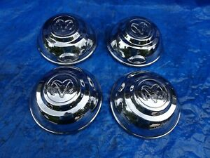 1994 1996 Dodge Dakota Chrome Oem Center Caps P n 52039274 Set