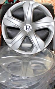 Honda Civic 2016 2018 Hubcaps 4 Wheelcovers Factory 16 All Silver 55099 A134