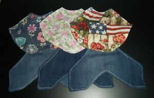 4 Denim Deluxe Bantam Chicken Saddle Hen Apron Wings Back Shoulder Hatching Egg