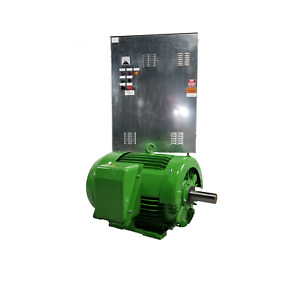 30 Hp Single phase Belle Motor No Vfd Or Phase Converter Needed 460v 1800 Rpm
