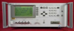 Hp Agilent 4285a 301 Lcr Meter 75khz 30mhz