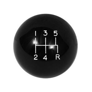 Roush Retro Shift Knob Black 2005 2010 Mustang Gt Manual Transmission