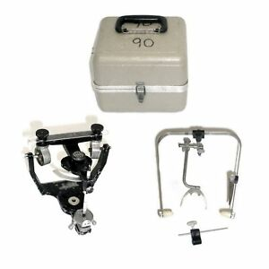 Denar Teledyne Hanau Wide vue Ii Dental Articulator W case Bow 8