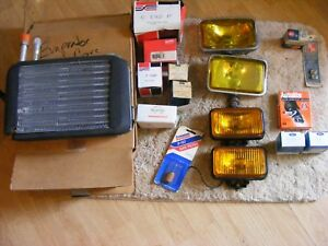 Lot Of Misc Vintage Ford Mustang Parts Listed In Description