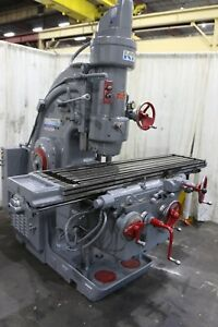 320 tf16 Kearney Trecker Vertical Mill Yoder 71081
