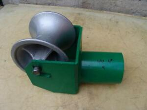 Greenlee 441 4 Cable Tugger Puller Feeding Sheave Great Shape 9