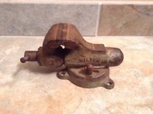 Wilton 2 Jaws Baby Bullet Vise Jewelers radio Vise 1949 Early