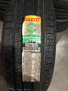 1 New 255 55 20 Pirelli Scorpion Verde All Season Tire