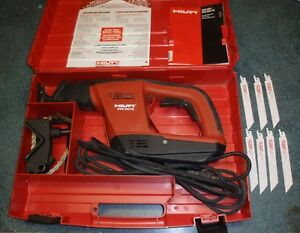 Hilti Wsr 900 pe Variable Reciprocating Saw With Case Blades Great Condition