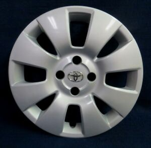 Toyota Yaris 06 08 15 8 Spoke Silver Wheel Cover Hubcap 1 Oem