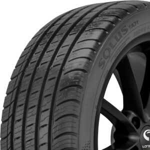 2 New 235 55 17 Kumho Solus Ta71 Ultra High Performance 500aaa Tires 2355517