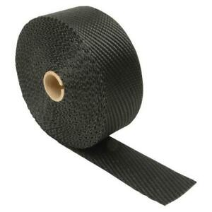 Dei 010004 2 Inch X 25 Foot Roll Black Titanium Header Exhaust High Heat Wrap