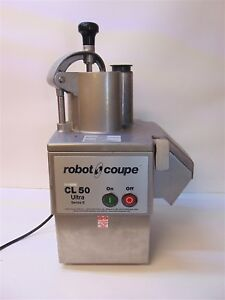 Robot Coupe Cl50e Food Processor In Good Working Condition S3735