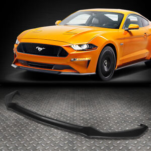 For 2015 2017 Ford Mustang Oe Gt Style Front Bumper Lip Lower Spoiler Body Kit
