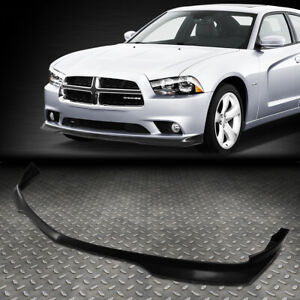 For 2011 2014 Dodge Charger Abs Ra Style Front Bumper Lip Spoiler Wing Body Kit
