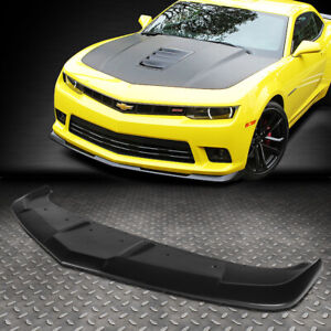 For 2014 2015 Chevy Camaro 1le Style Abs Front Bumper Lip Spoiler Wing Body Kit