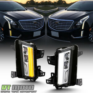 switchback 2017 2018 Cadillac Xt5 Led Drl W turn Signal Fog Lights Lamps
