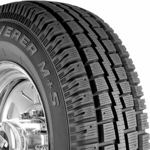 4 New 245 75 16 Cooper Discoverer M s Winter Performance Tires 2457516