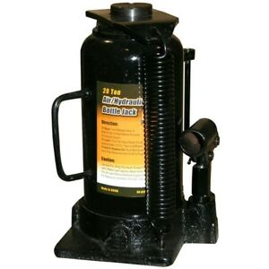 Black Bull 20 Ton Manual Air Hydraulic Bottle Jack Airbj20