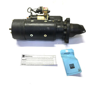 Delco Remy Re Manufactured 12v Starter Motor 10461267
