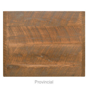 New 24 Square Economy Urban Distressed Table Top Provincial Finish