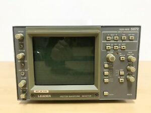 Leader 525 Lines 5872 Vector waveform Monitor