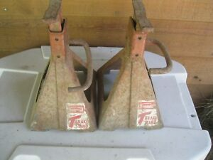 Vintage Jack Stands Thermoid Antiques