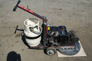 Silver Bullet 21 Propane Floor Buffer Finishing Burnisher 14hp Kohler Guar