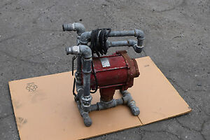 Tuthill Fill rite 700 Fuel Transfer Pump 20 gpm With Stand In out 1 Ports Gas