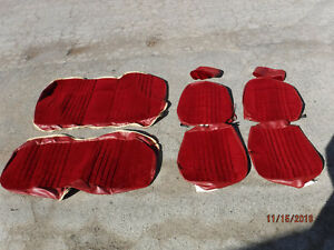 New Repo 1982 1987 Regal Monte Carlo Seat Covers Front Buckets Rear Burgundy