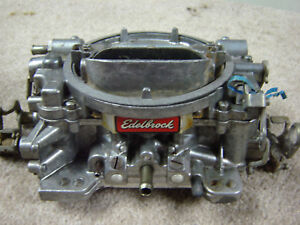 Edelbrock 750 Cfm 1407 Carb Has Had A New Kit Replacement Few Years Back